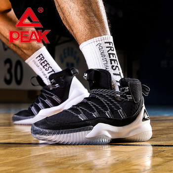 basketball shoes men s shoes discount parker ii tp9 signature boots spring breathable sports shoes e44323a peak PEAK Men Basketball Shoes Mesh Breathable Cushion Sneakers Non-slip Wearable Street Sports Shoes Gym Training Athletic Shoes
