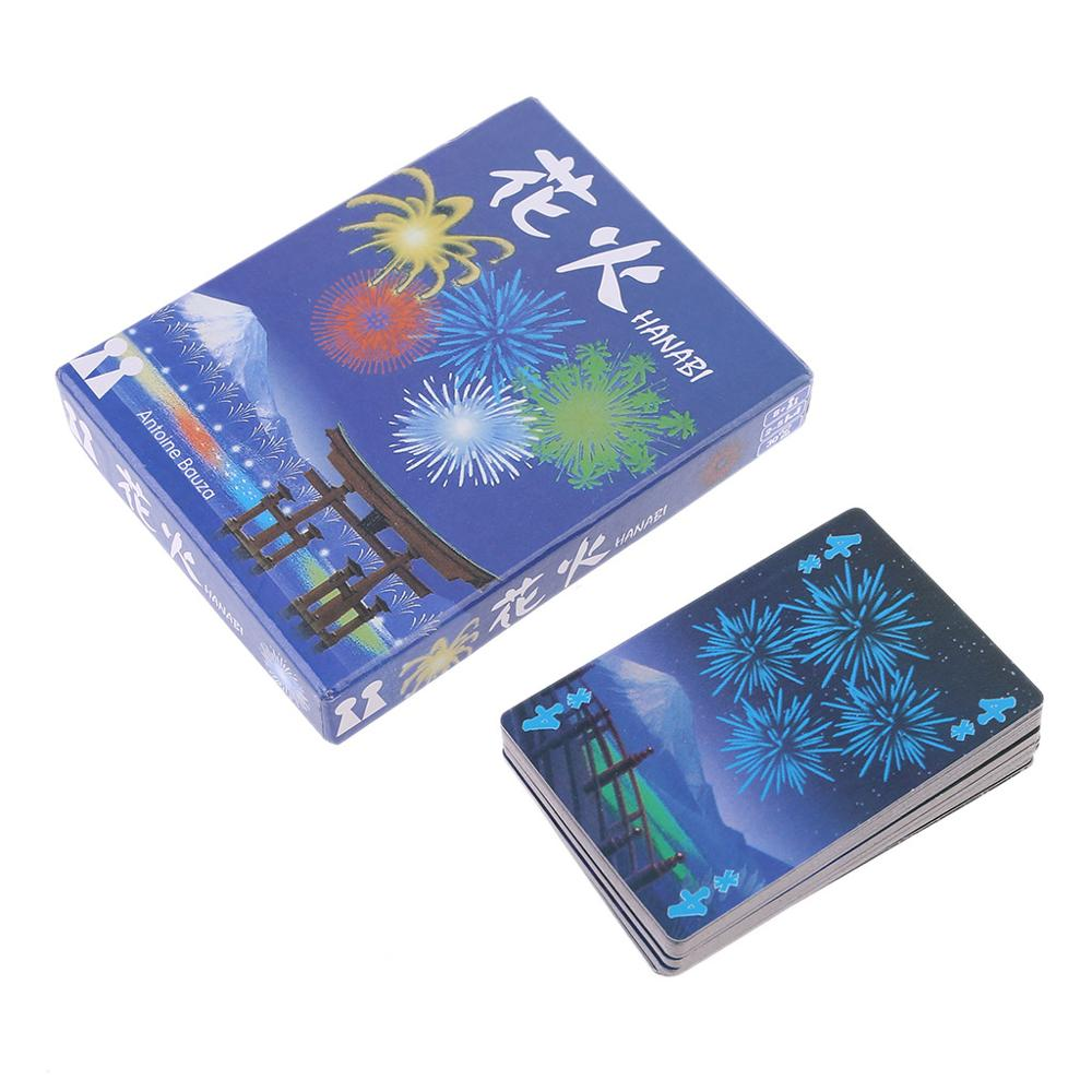 For HANABI Board Game 2-5 Players Cards Games Easy To Play Funny Game For Party/Family Parent-Child Game