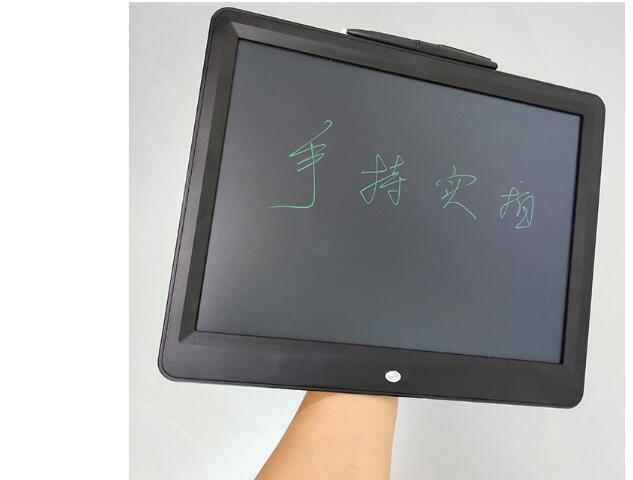 2 Pcs  Drawing Eblackboard 15 Inch Portable Thin LCD Writing Tablet Gifts For Kids Office Writing Handwriting Pads Writing Pen