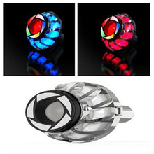 12V Motorcycle Angel Eye Strobe Flash Light Design LED Motorbike Scooter Flasher Tail Brake Rear Lamp Свет мотоцикла