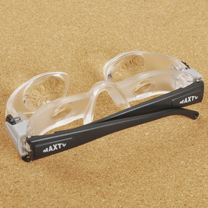 Image 2 - Acrylic Glasses Folding Magnifier Diopter+3 Optical Prism Fashion Portable Eyewear