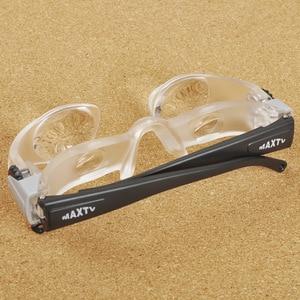 Image 2 - Bicchieri in acrilico Pieghevole Lente di Ingrandimento Diottrie + 3 Prisma Ottico Portatile di Modo Occhiali