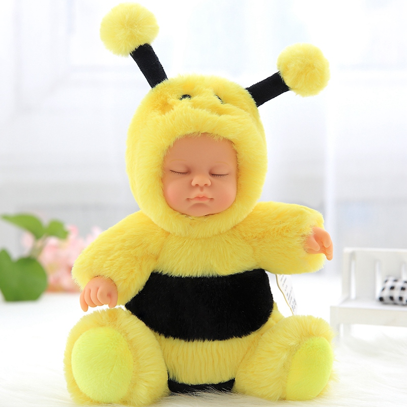 cute plush toy Stitch interstellar baby turned to bee stuffed doll toy gift 1pc