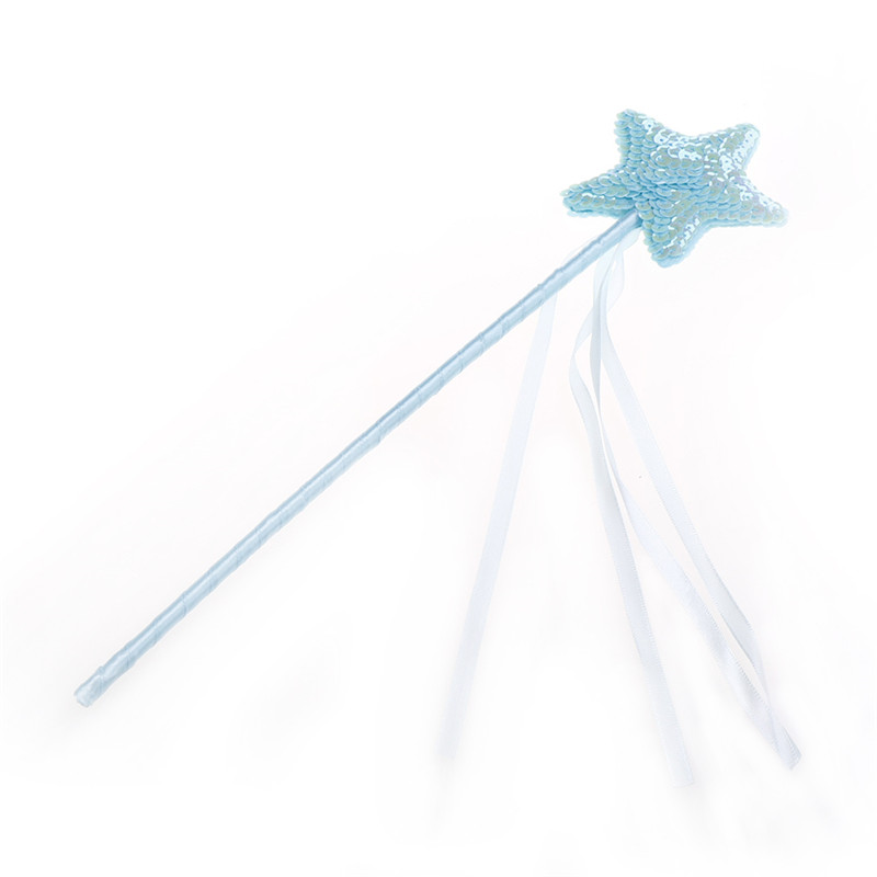 Kids Girls Star Princess Butterfly Fairy Wand Children Magic Sticks Performance Props Birthday Party Favors Gifts