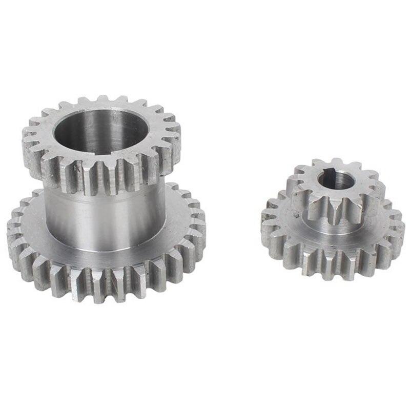 Metall Getriebe Mini Drehmaschine Getriebe Metall Schneiden Maschine Werkzeug Getriebe 18 teile/satz CJ0618
