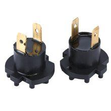 A Pair For Mazda 3 5 323 Headlight Bulb Bases Genuine For Mazda 2 De 3 323 Bk Bj Headlamp Socket H7 Globe Bulb Holder