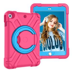 Для iPad 10,2 7th 2019 чехол для планшета детский Безопасный EVA резиновый чехол-подставка с ручкой для iPad 7th Gen детский чехол для планшета