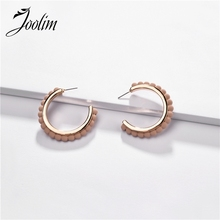 Joolim 5 Colors Flower Shape Earring  C Earrings Trendy Jewelry Wholesale