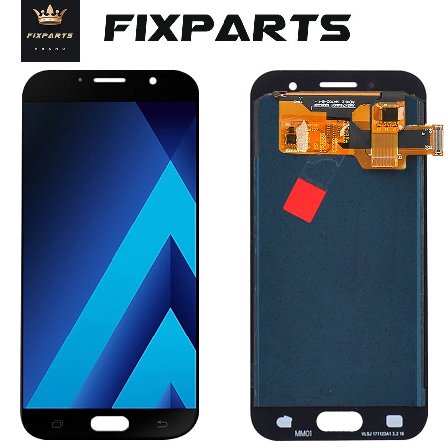 A320 <font><b>LCD</b></font> For <font><b>SAMSUNG</b></font> <font><b>GALAXY</b></font> <font><b>A3</b></font> 2017 <font><b>LCD</b></font> A320 A320F Display Touch Screen Digitizer Replacement For <font><b>Samsung</b></font> <font><b>A3</b></font> 2017 Display image