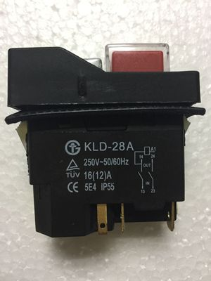 KLD-28A Waterproof Magnetic Switch Explosion-proof Pushbutton Switches 220V 18A IP55