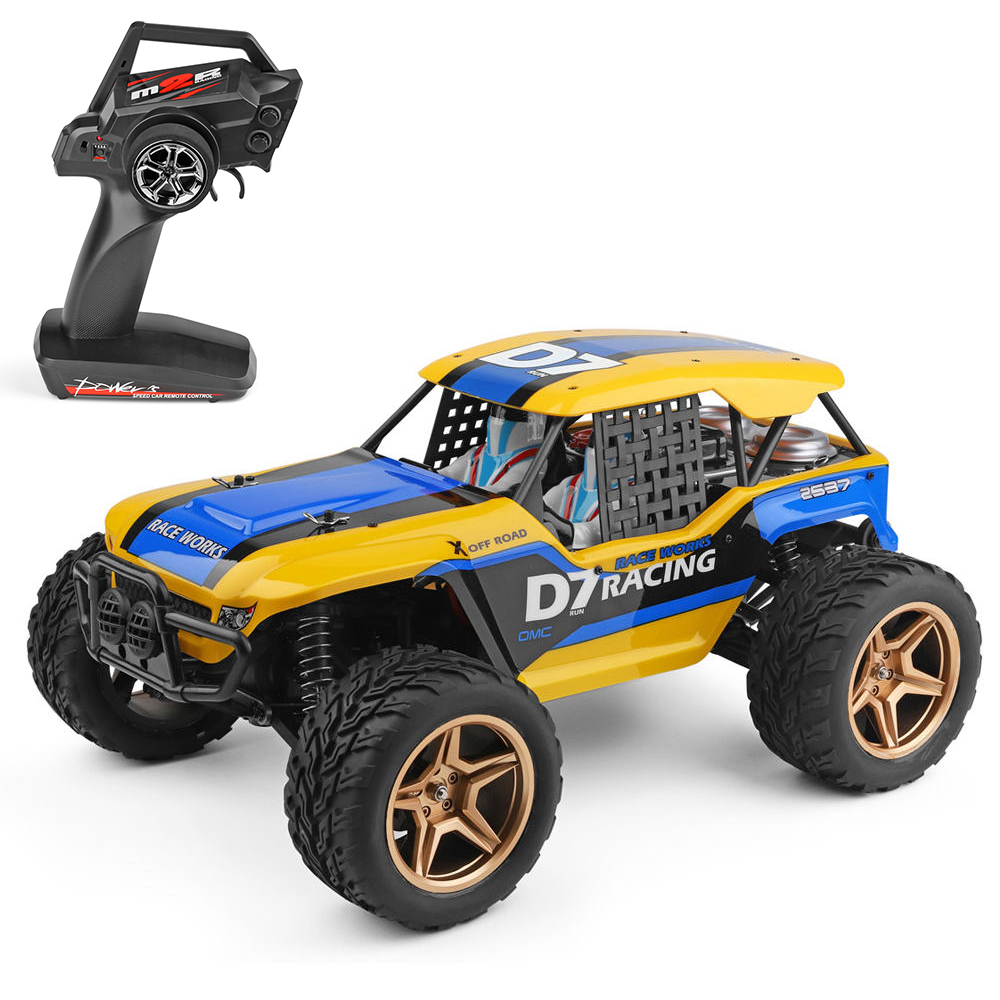 Wltoys 1/12 12402-A 4WD 2.4G RC Car Dessert Baja Vehicle Models High Speed 45km/h Remote Control Car Model Off-Road Vehicle Toy