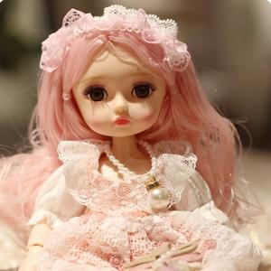 Image 1 - New 1/6 Princess Dressup Doll BJD 26cm Beautiful Girl Doll with Dress