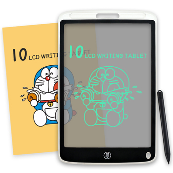 10 Inch LCD Writing Tablet Electronic Semi-transparent Writing Drawing Board Handwriting Doodle Notepad for Kids Adult