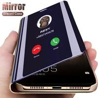 Custodia Smart Flip di lusso per Samsung Galaxy S21 S20 S10 S8 S9 Plus S20FE S7 S6 Edge Note 20 Ultra Note 10 Plus 9 8 10 Lite Cover