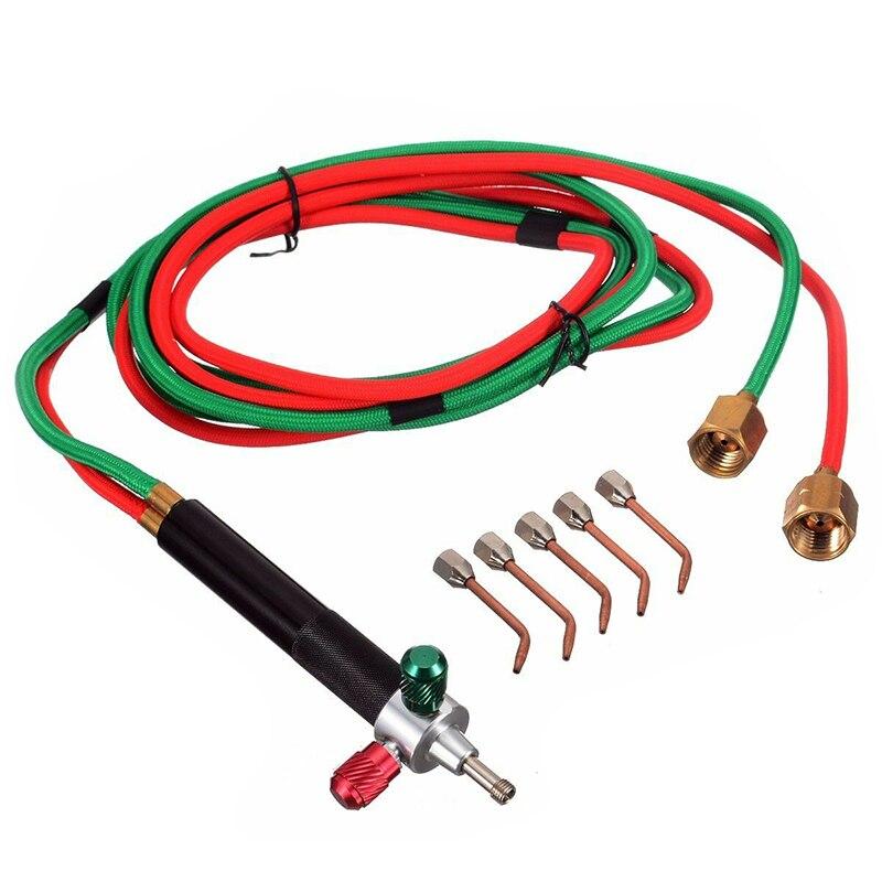 Mini Gas Little Torch Welding Soldering Kit Oxygen Acetylene Gun Welding Platinum Metal Stainless Steel Welding Soldering Tool