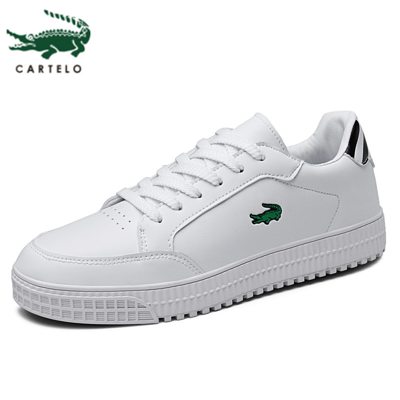 CARTELO Men's Shoes New Student Korean Version Of The Wild Board Shoes Low-top Casual Tide Shoes Men