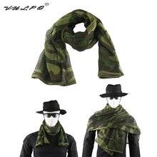 Тактический армейский шарф камуфляжный сетчатый дышащий Шарф