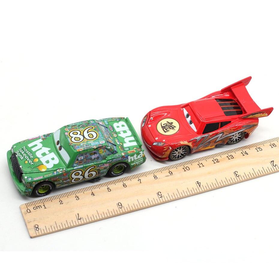 2020Disney Pixar Cars  Lightning McQueen Jackson Storm Mater 1:55 Diecast Metal Alloy Model Car Toy Christmas Gift Children Boys