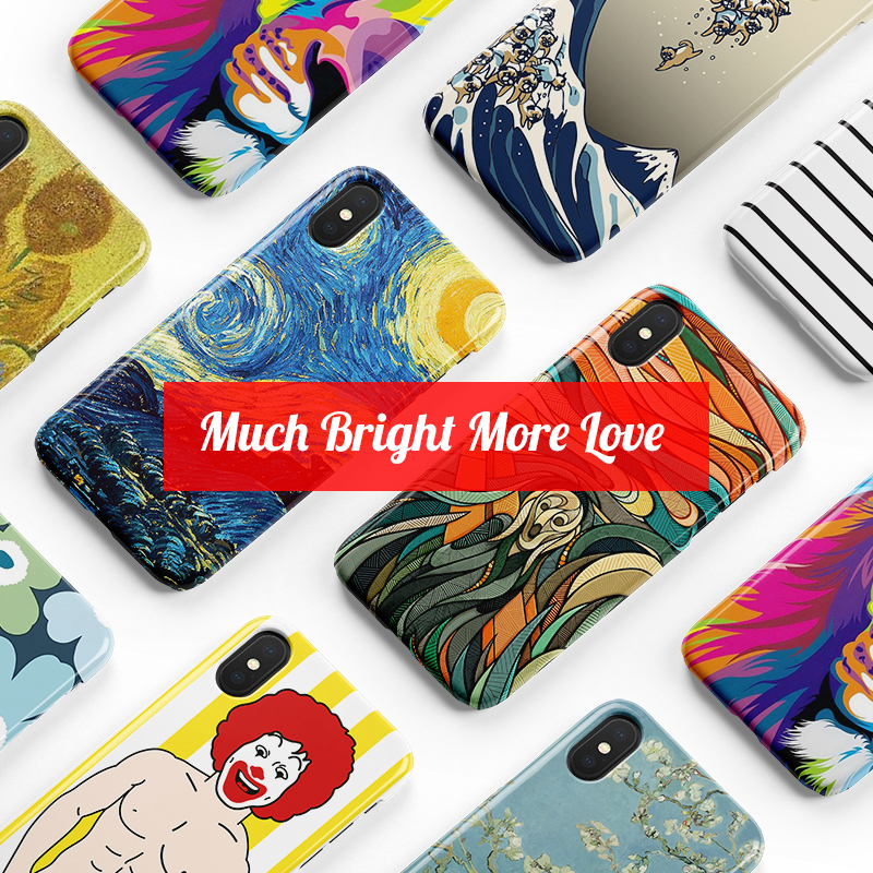 Luxury Marble Soft TPU Silicone Case for iPhone X Cover XR XS Max 6 6S 7 8 Plus 11 Coque Van Gogh Starry Night Art Everlast Love