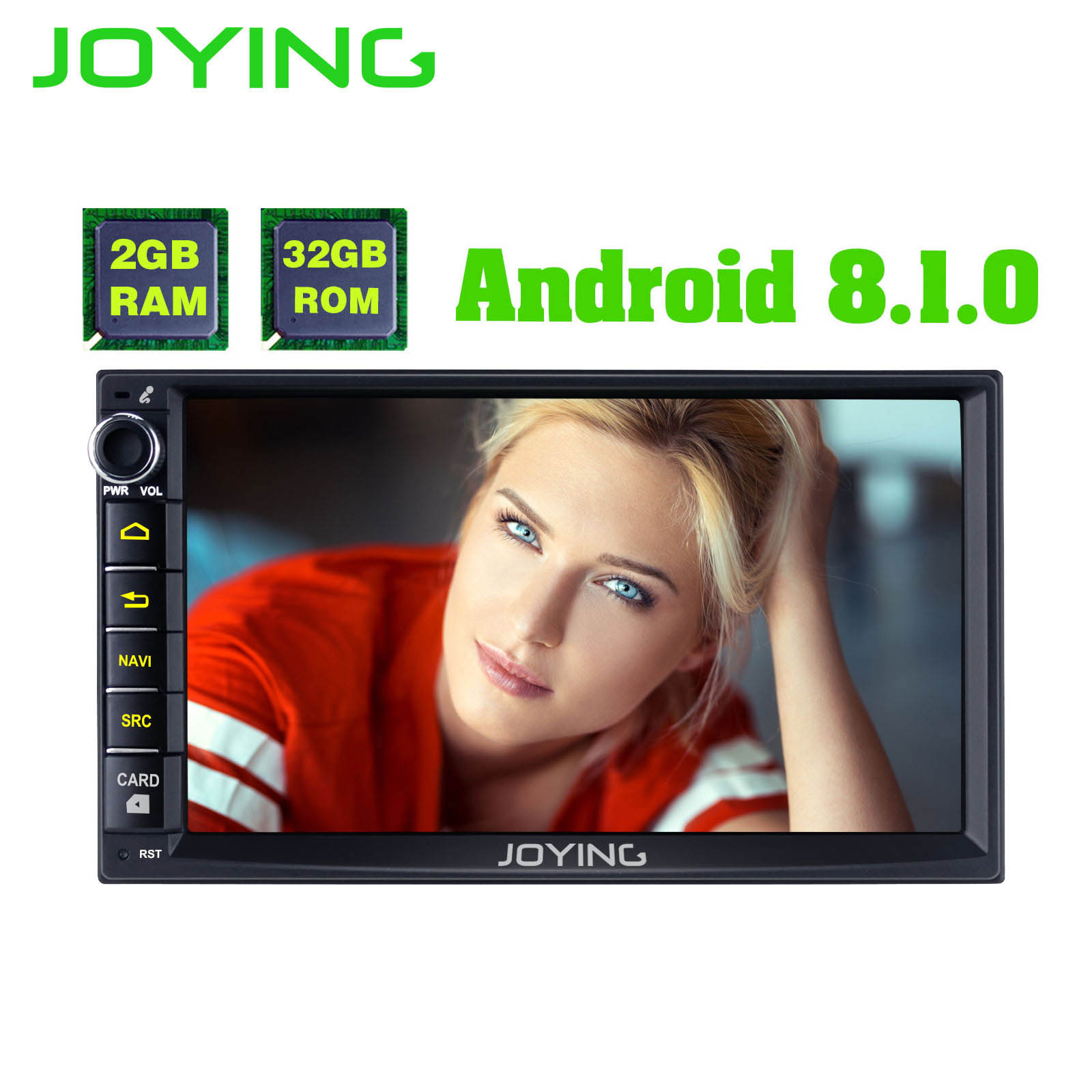 JOYING 7 Head Unit 2GB 32GB Android 8 1 Universal Car Radio Stereo Double 2 2Din