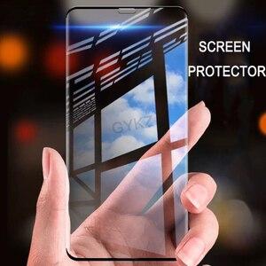 Image 2 - Безрамное закаленное стекло для iPhone X XS Max XR 11 Pro MAX, защита экрана, закаленное стекло для iPhone XS MAX 11, пленка из стекла PROMAX