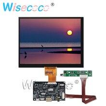 HJ080IA-01E 8 polegada ips monitor display lcd tft resolução 1024*768 com 40 pinos lvds controle placa motorista para tablet