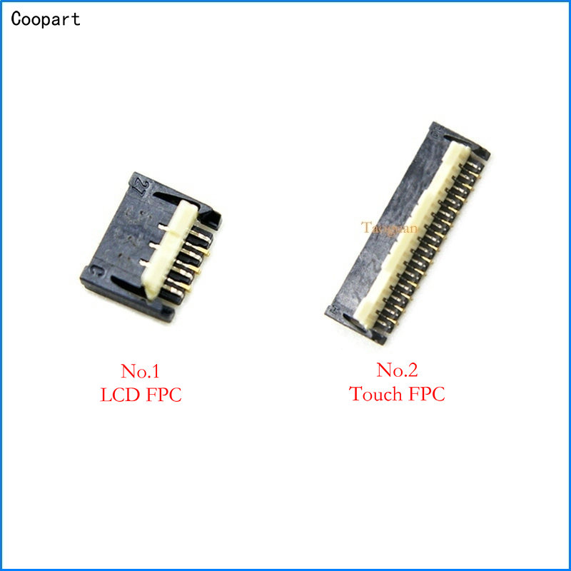 Coopart New LCD Display/Touch FPC Connector Port Plug On Mainboard For ASUS Zenfone2 ZF2 ZE500KL Z00ED Zenfone 2 Top Quality