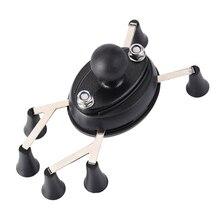 Texel WebGrip avec berceau de téléphone x grip b ball 1 pouce (noir) pour supports de Ram et téléphone portable moto vélo