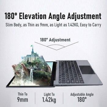 BYONE 14.1 Inch Laptop 8GB RAM128G 256G SSD Intel Celeron J3455 DDR4 Windows 10 LaptopThin Notebook1920*1080 IPS Computer 5