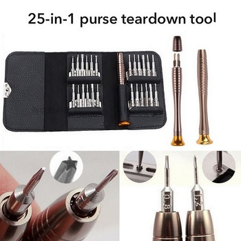 25 In 1 Screwdriver Set Multifunctional Opening Repair Tool Set Torx Precision Screwdriver For Phones Tablet PC Repair kaisi screwdriver set precision screwdriver tool kit magnetic phillips torx bits 126 in 1 for phones laptop pc repair hand tool