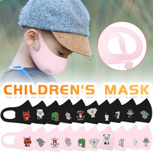 10 pcs Child washable mask Face Mask Cover Dust Child Mouth Filter Masks Face Mask Washable Proof Protect Face Mouth Cover #40 tanie tanio Akrylowe COTTON NYLON NONE Cartoon mascarilla reutilizable mascarillas mascherina mondkapjes wasbaar mascherine lavabili