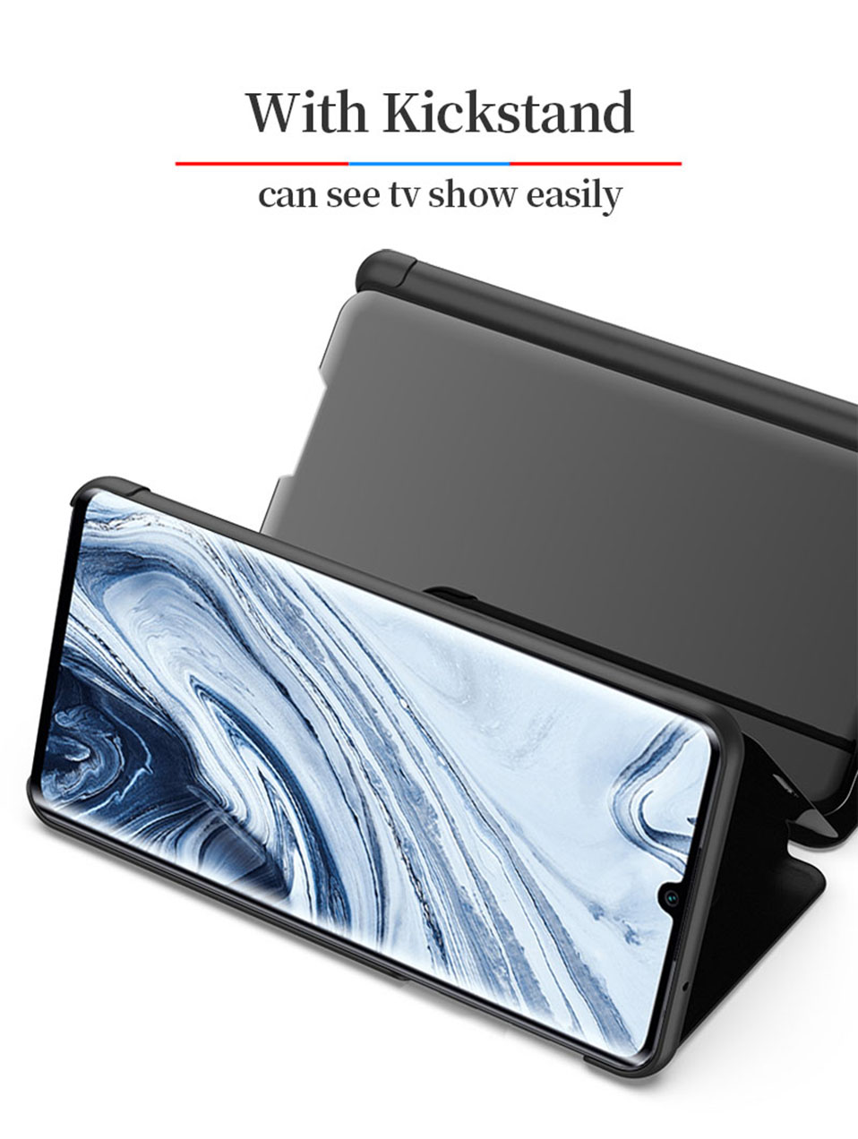 Smart Full Cover Case for Leather Smart Full Cover Case for oneplus 8 pro 7 7t 6 6t(6)