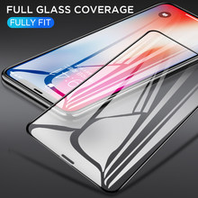 10D FTempered Glass Film For iPhone 11Pro Max X XR XS Max HD Luxury Ultra Clear Screen Protector Film For iPhone 8 7 6 6s Plus(China)