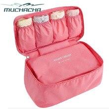 Dropship Fashion Nylon Cloth Storage Bag Lingerie Underwear Travel Trip Zipper Organizer Flight Pilot Storage Bag