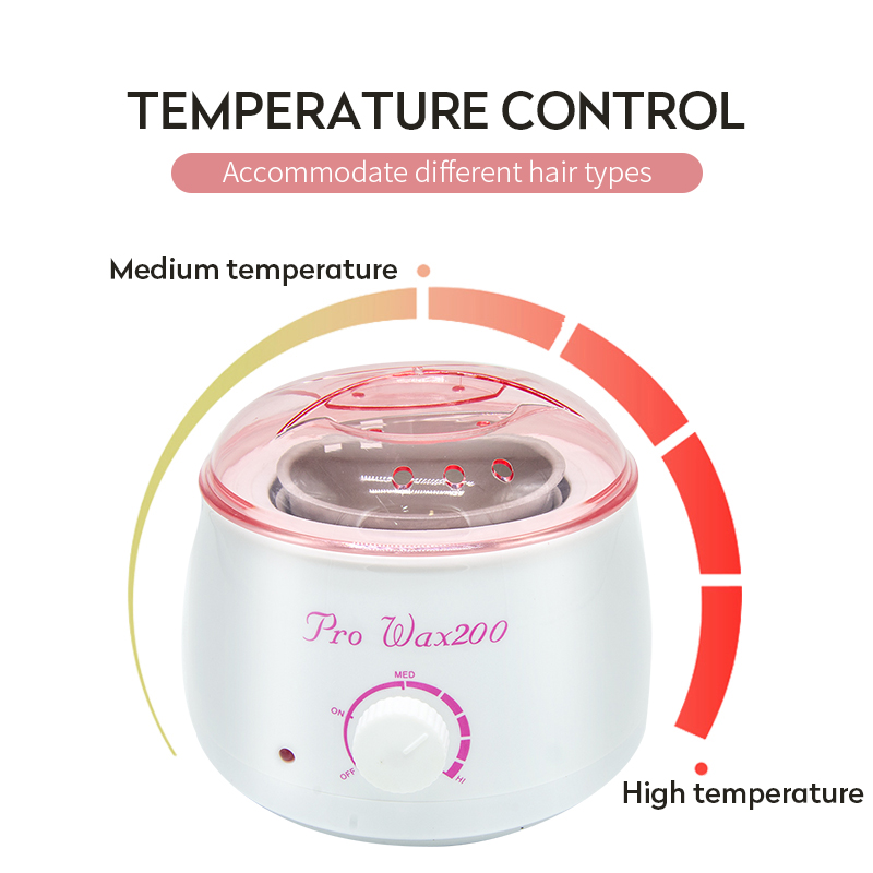 Super Promo 815ee6 Electric Wax Heater Waxing Machine For Hair Removal Body Epilator Paraffin Wax Kit With 300g Wax Beans 1 Chauffe Cire Cicig Co