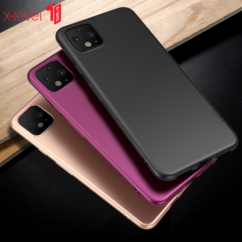 For Google Pixel 4 XL Case Ultra Thin Soft TPU Silicon Matte Back Cover For Google Pixel 4 Case For Google Pixel 4A Case