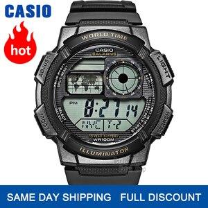 Image 1 - Casio watch g shock 10 year battery watch men luxury LED digital 100m Waterproof Quartz men watch Sport military watches for men