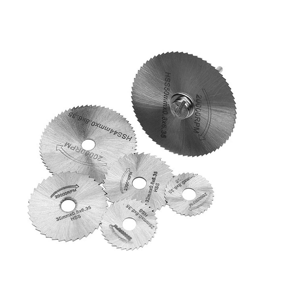 22 50 мм Мини HSS циркулярная пила лобзик роторный инструмент для Dremel металлорежущий Электроинструмент набор дерева режущие диски буровая оправка|Полотна для пил|   | АлиЭкспресс