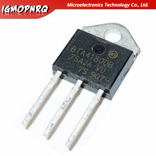 10pcs BTA41-800B BTA41800B BTA41-800 BTA41 Triacs 40 Amp 800 Volts TO-3P original novo