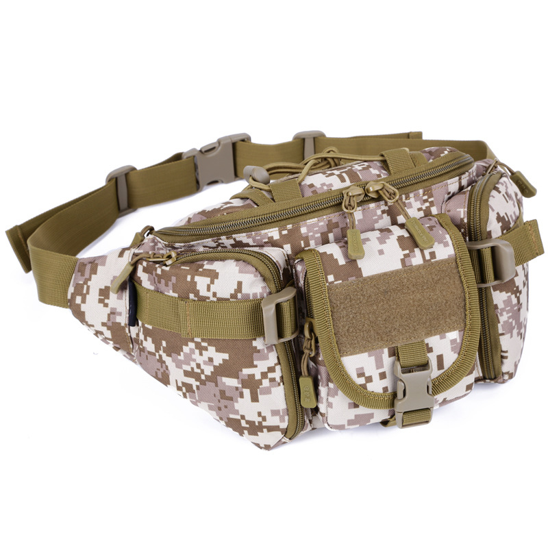 Outdoor Tactical Bag Large Wallet Riding Travel Fanny Pack Mountain Climbing Waist Pack Casual Chest Pack Men's Bag Shoulder Bag