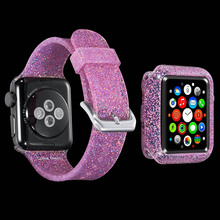 цена на Women Silicone Band for Apple Watch series 4 40mm 44mm Soft Sport Strap 38mm 42mm Rubber Bracelet for iwatch 3 2 1 Watchband