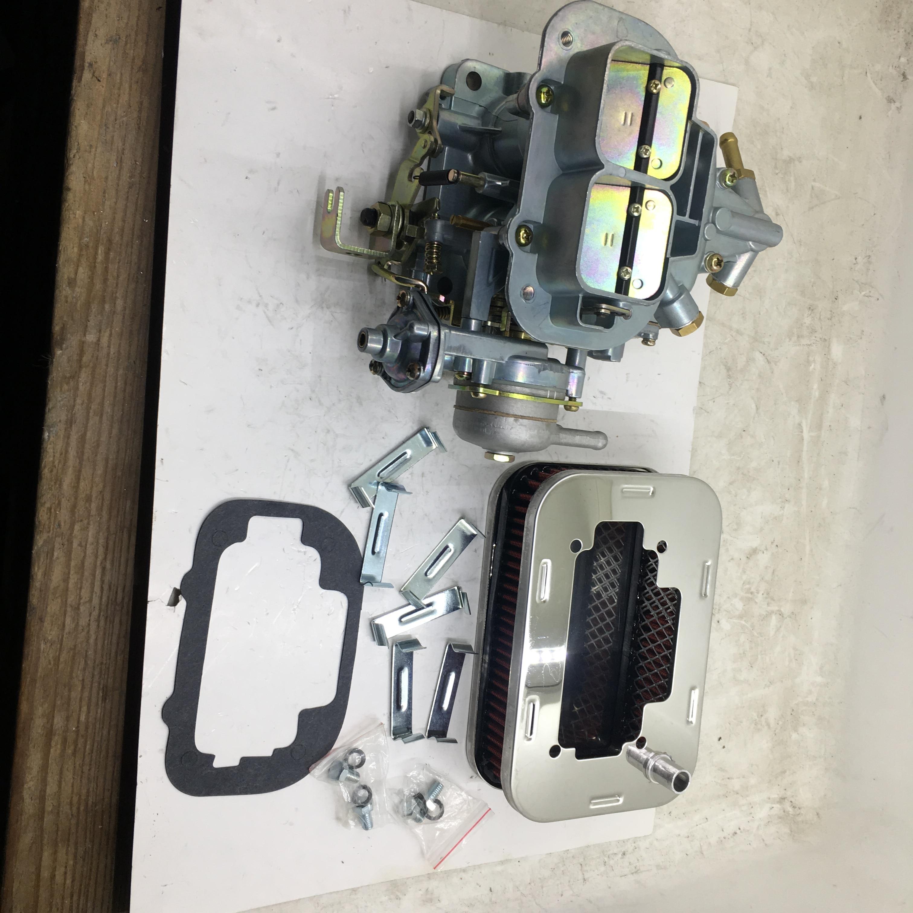 SherryBerg fajs CARB dla Weber 32/36 zestaw do konwersji gaźnika DGAV dławik wody 2 beczki + filtr powietrza dla suzuki samurai 1985-89