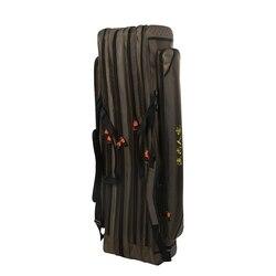 Torba na sprzęt wędkarski duża pojemność torba wędkarska 4 warstwy gruba wodoodporna wędka pakiet w Torby wędkarskie od Sport i rozrywka na