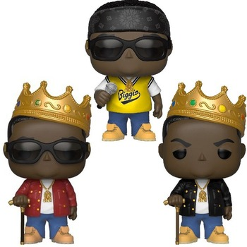Funko POP toys vinyl dolls The Notorious B.I.G #77 78 82 Vinyl PVC Action Figures Collection Model Toys for Child Gift with box цена 2017