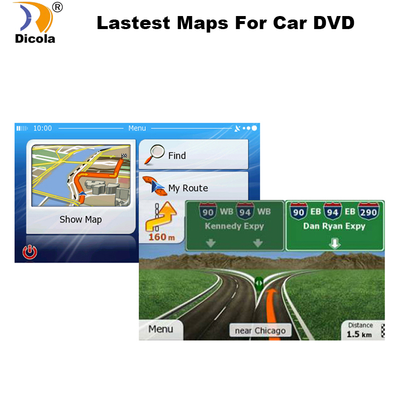 GPS Accessories 8G Gps Maps Sd Card 2018 Latest Map For WinCE Car Gps Navigation Map Europe/Russia/USA/CA/AU/Israel Car Gps Map