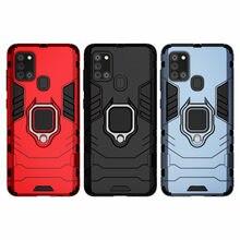 Telefon Halter Finger Ring Fall Für Samsung A21s Magnet Rüstung Abdeckung auf die für Samsung Galaxy A21s EINE 21s SM-A217F/DS 6.5 ''A217M