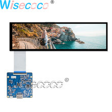 Wisecoco New 8.8 Inch LCD Display 1920×480 IPS Screen 40 pins with HDMI MIPI USB Driver Board for Automotive Display цена в Москве и Питере