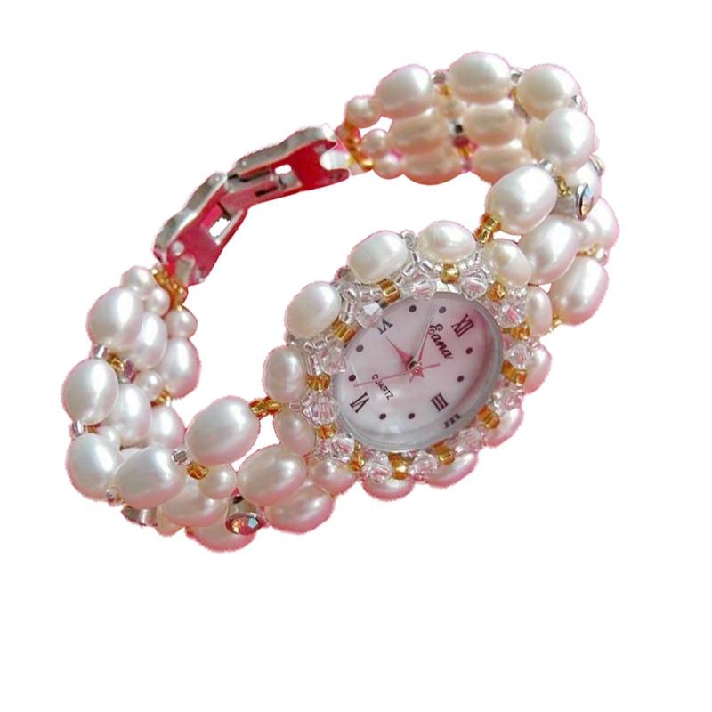 Nouveauté femmes montre à Quartz dames perle Bracelet bijoux filles montre-Bracelet étudiants montre-Bracelet cadeaux