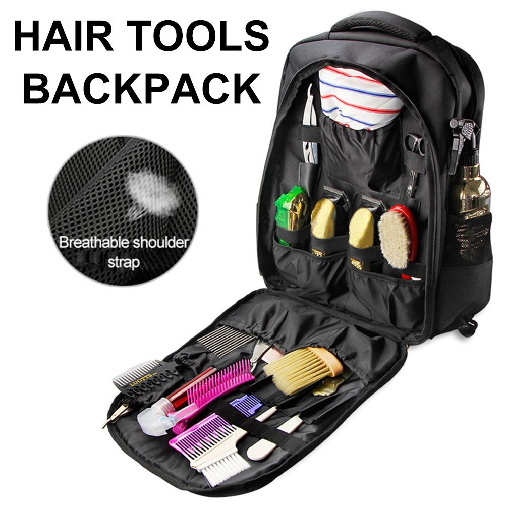 Hairdressing Tools Bag Hair Accessories Large Capacity Storage Tool Haircut Backpack Outdoor Travel Backpack Cosmetic Organizer