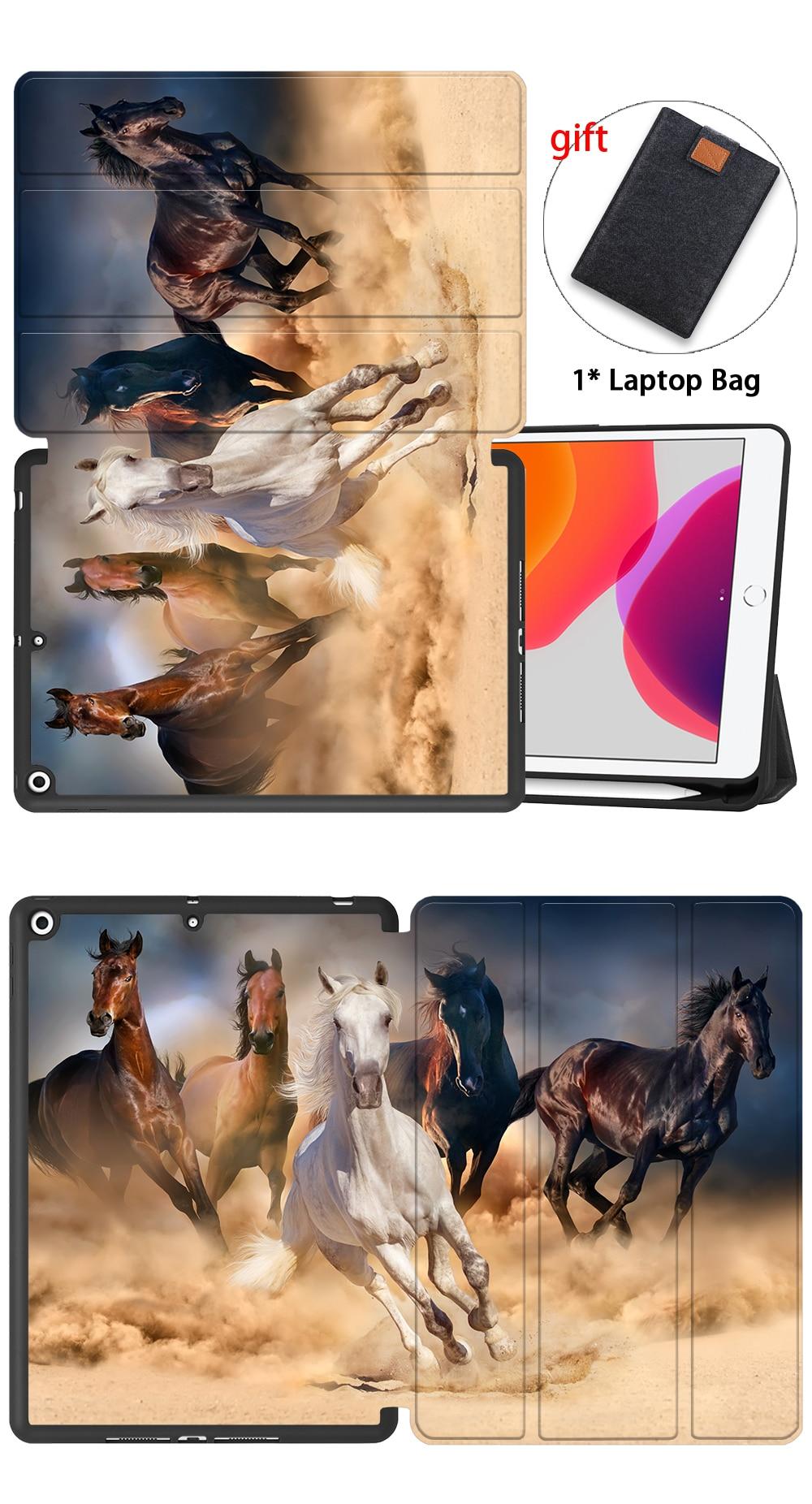 10.2 Tablet Case PU Leather iPad Generation 7th 2020 TPU Back MTT Flip For Smart 8th